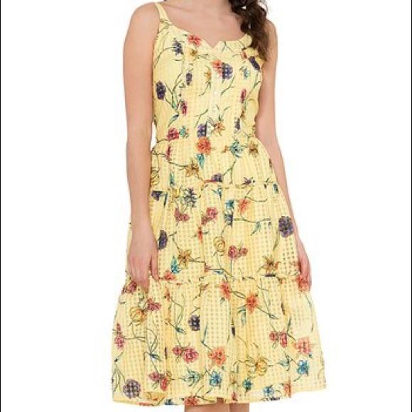 4b3d5745c1c2 Voodoo Vixen Yellow Dress. M_5ab40af761ca106976d50e54